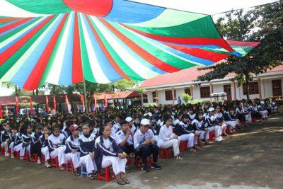 HS Trường THPT Krông Ana tham gia ngày hội văn hóa giao thông năm 2018 tỉnh Đăk Lăk