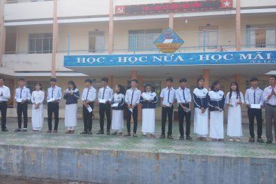 Trường THPT Krông Ana ôn truyền thống ngày Phụ nữ Việt Nam 20/10 và tổng kết HKPĐ cấp trường (HS Trần Thị Hồng, lớp 12A6 năm học 2019-2020)