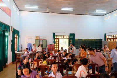 Công đoàn trường THPT Krông Ana tổ chức trung thu