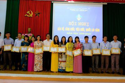 Hội nghị Cán bộ, công chức, viên chức, người lao động Trường THPT Krông Ana năm học 2019 – 2020