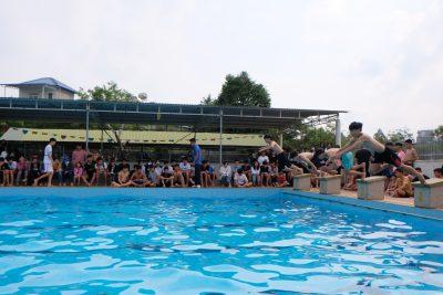 Trường THPT Krông Ana tổ chức giải bơi lội học sinh lần thứ III