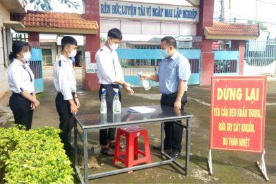 Trường THPT Krông Ana triển khai giảng dạy và học tập trực tiếp