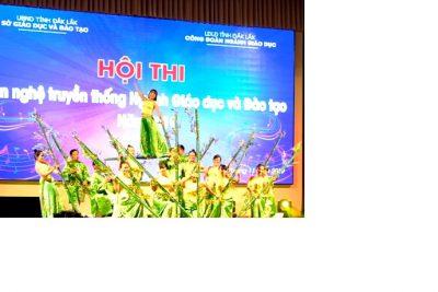 """Tiết mục múa """"Hồn tre Việt"""" Tập thể CBGV trường THPT Krông Ana 2019"""