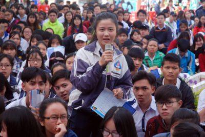 HS THPT Krông Ana tham gia chương trình tư vấn TS – HN 2017