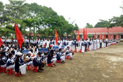 Trường THPT Krông Ana tổ chức khai giảng năm học mới 2019-2020 (HS Vũ Lê Phương Thảo, lớp 12A1, năm học 2019 – 2020)
