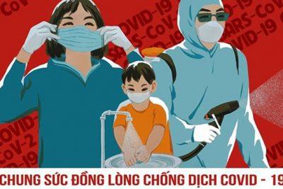 Covid 19 – Cuộc chiến không của riêng ai (Nguyễn Thị Thùy Trang, lớp 10A3, năm học 2020 – 2021)